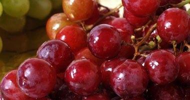 تناول العنب الأحمر يساعد فى علاج الاكتئاب