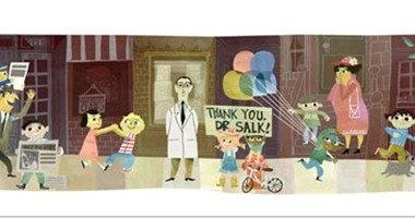 جوجل تحتفل بالذكرى الـ100 لميلاد مخترع لقاح شلل الأطفال