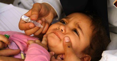 تطعيم 94% من المستهدفين فى حملة التطعيم ضد شلل الأطفال