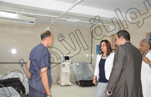 افتتاح وحدة جديدة للغسيل الكلوى بمستشفى بولاق الدكرور العام وتطوير قسم الطوارئ
