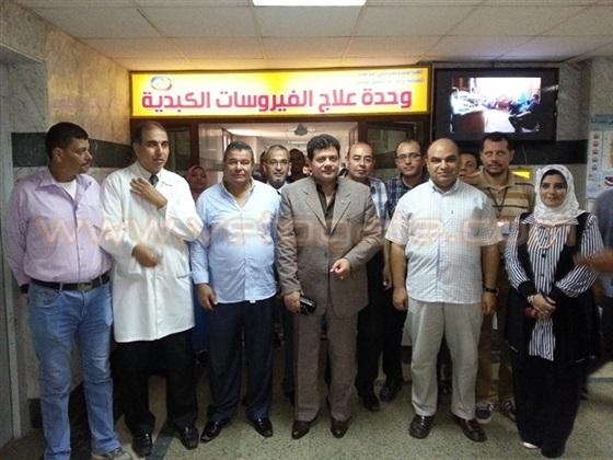 التأمين الصحى بالغربية يفتتح لجنة الفيروسات الكبدية بسمنود