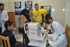 مصر العطاء تطلق قافلة طبية لعلاج امراض الرمد لأهالى الفيوم
